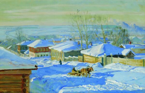 Зима. 1915 С.Жуковкий